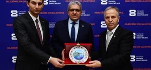 """Çifteler heyetinden EOSB'a ziyaret Eskişehir Organize Sanayi Bölgesi Başkanı Nadir Küpeli; """"Çiftelerin daha da gelişmesi için iş birliğini arttıracağız"""""""
