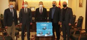 Tosya'da 55 adet tablet, ihtiyaç sahibi öğrencilere dağıtıldı