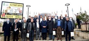 Muhtarlar sosyal tesisleri gezdi Muhtarlardan Gürkan'a hizmet teşekkürü
