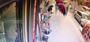 Züccaciye dükkanının önündeki bozuk sobayı çalıp kayıplara karıştı