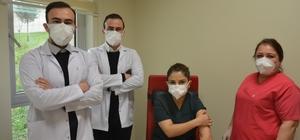 Tek yumurta ikizi doktorların aynı hastanede korona mücadelesi
