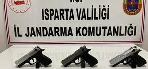 Isparta'da silah ticareti operasyonu: 1 gözaltı