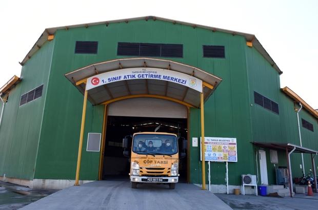 Tarsus Belediyesi Sıfır Atık Belgesini aldı