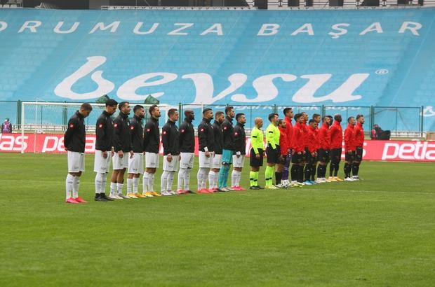Süper Lig: Konyaspor: 0 - Göztepe: 2 (İlk yarı)