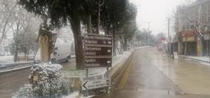 Ayvacık'a kar yağışı başladı