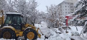 Tunceli'de kardan 145 köy yolu ulaşıma kapandı Erzincan yolu kamyon ve tır geçişlerine kapatıldı
