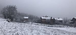 Kastamonu'da 95 köy yolu kar nedeniyle ulaşıma kapandı Kastamonu'da yoğun kar yağışı devam ediyor