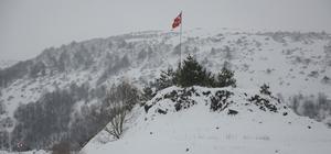 Ordu'dan kar manzaraları