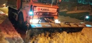 Balıkesir'de 200 kırsal mahalle yolu kapalı