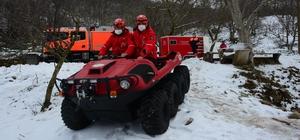 İzmir'de kar seferberliği İzmir Büyükşehir Belediyesi ekipleri karla mücadelesini sürdürüyor 78 köy ve mahalle yolunda kar küreme çalışması yapıldı