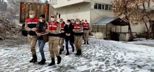 Jandarmadan uyuşturucu tacirlerine darbe: 6 tutuklama