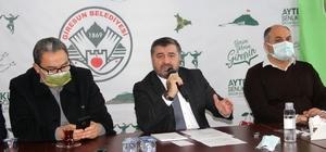 Giresun Belediye Başkanı Şenlikoğlu hizmetlerini anlattı
