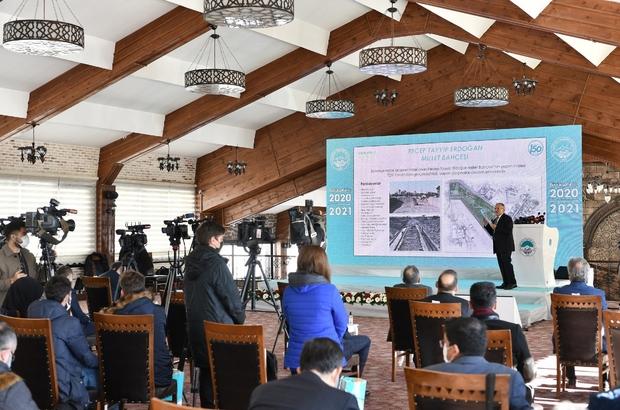 Büyükşehir'de 2021'de dev projeler ile 3 milyar 897 milyon TL'lik yatırım planlandı