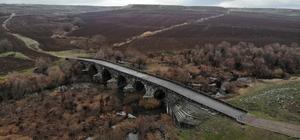 'Bütün yollar Roma'ya çıkıyor' Diyarbakır'da 2 bin yıllık Roma yolu ve köprüsü drone ile görüntülendi
