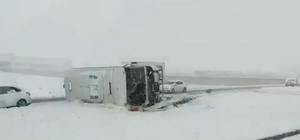 Yoğun kar kazaları beraberinde getirdi