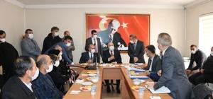 Başkan Sekmen Aşkale için müjde verdi Büyükşehir Belediye Başkanı Sekmen'e Aşkale'de yoğun ilgi
