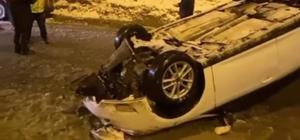 Batman'da kar ve buzlanma kazaya neden oldu