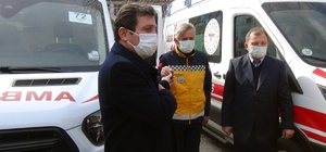 112 istasyonlarına yeni ambulans Sağlık Bakanlığı tarafından Muğla'daki 112 istasyonlarında kullanılmak üzere gönderilen 17 adet tam donanımlı ambulans ve bir yeni doğan ambulansı göreve başladı.