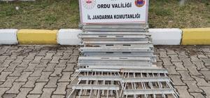 Ordu'da elektrik direklerinden demir çalan 2 kişi yakalandı