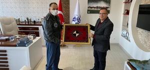 Komutan Koltukoğlu'dan Başkan Kazgan'a ziyaret