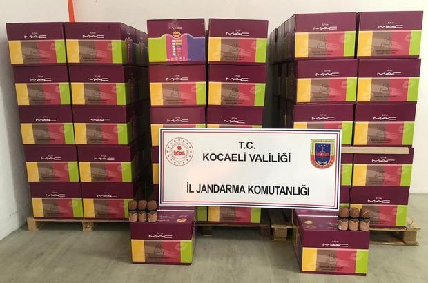 Kocaeli'de 150 bin TL değerinde sahte deodorant ele geçirildi