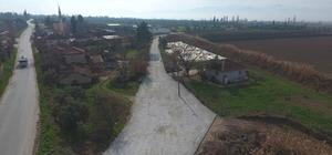 Toprak yollar kilit parke taşıyla kaplandı Kavakbaşı Mahallesinde beton kilit parke taşı çalışması gerçekleştirildi