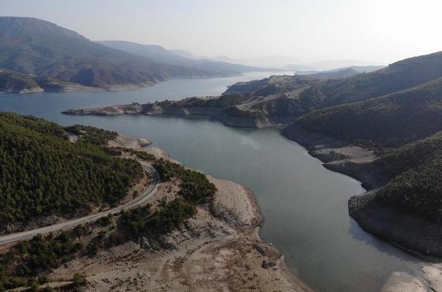 Samsun'da baraj ve göllerde doluluk oranı yüzde 10 azaldı
