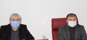 Başkan Cengiz birim müdürlerini topladı