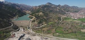 Isparta'da bazı baraj ve göletlerde dip seviye görüldü Eğirdir Gölü'nde doluluk oranı yüzde 7 azaldı