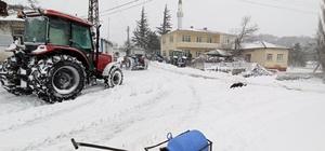 Balkan köylerinde kar yağışı hayatı felç etti