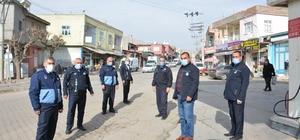 Ergani'de korona virüs denetimleri sürüyor