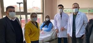 Cihanbeyli'de bu ameliyat ilk kez yapıldı