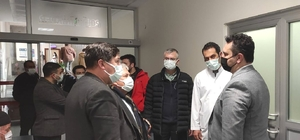 Sivrihisar'daki sağlık kuruluşlarına inceleme ziyareti