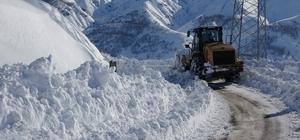 Muş'ta 71 köy yolu ulaşıma kapandı