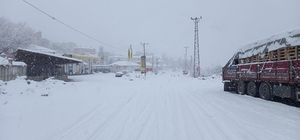 Tunceli'de kar bastırdı, 160 köy yolu kapandı
