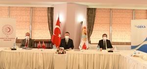 """GEKA'nın 136. yönetim kurulu toplantısı Denizli'de gerçekleştirildi GEKA Yönetim Kurulu Başkanı Vali Aksoy: """"Yatırım destek ofislerince fizibilite raporları hazırlanmıştır"""""""