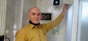 """10 yıl üzerinde çalıştığı projeyle evini güneşle ısıttı 'Güneş Isısıyla Isıtma' projesiyle elektrik faturası ödemiyor Ahmet Gözlükaya, """"Güneş fatura kesmez"""""""