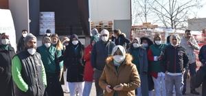 Kocaeli'de işçiler iş bırakma eylemi yaptı