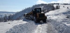 Muş'ta 82 köy yolu ulaşıma kapandı