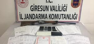 Giresun'da tefeci operasyonu: 5 gözaltı