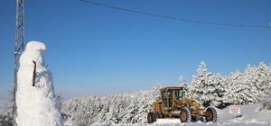 Elazığ'da kar nedeniyle 198 köy yolu kapandı