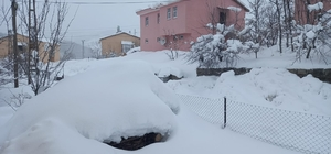 Tunceli'de yoğun kar yağışı, 250 köy yolunu ulaşıma kapattı