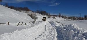 Muş'ta 137 köy yolu ulaşıma kapandı