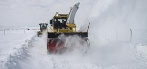 Erzincan'da kar ve tipiden 118 köy yoluyla ulaşım sağlanamıyor