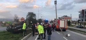 Çine'de trafik kazası: 1 yaralı
