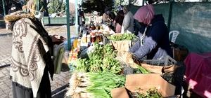 Doğal ürünler haftada 3 gün kent halkı ile buluşuyor