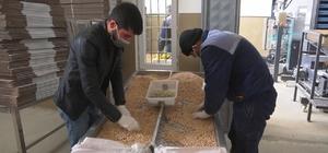 Malatya'da ihtiyaç sahiplerine 2 bin paket nohut ve kuru fasulye