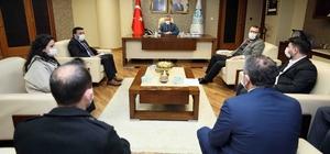 Başkan Büyükakın, sosyal hizmetler personellerini ağırladı