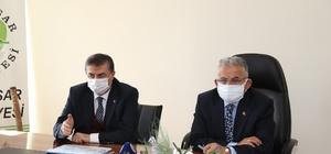 Başkan Büyükkılıç 2021 yatırımları için Yeşilhisar'da