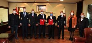 Büyükşehirde toplu sözleşme sevinci PERAŞ personeline toplu iş sözleşmesi